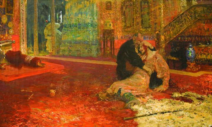 Копию поврежденной в Третьяковке картины Репина вернули в воронежский музей