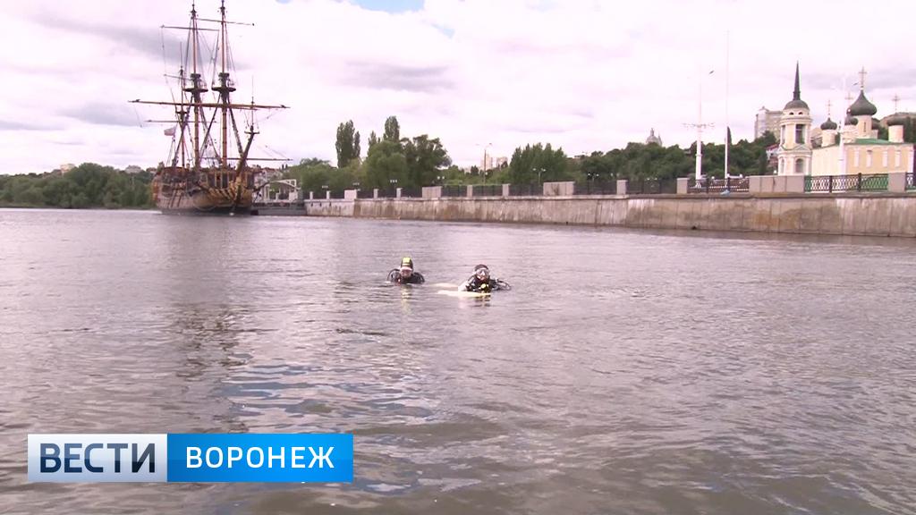 Ныряльщиков из Воронежского водохранилища будут «вытаскивать» принудительно