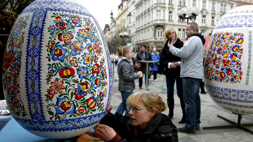 Воронежцы поучаствуют в росписи пасхального яйца высотой в человеческий рост