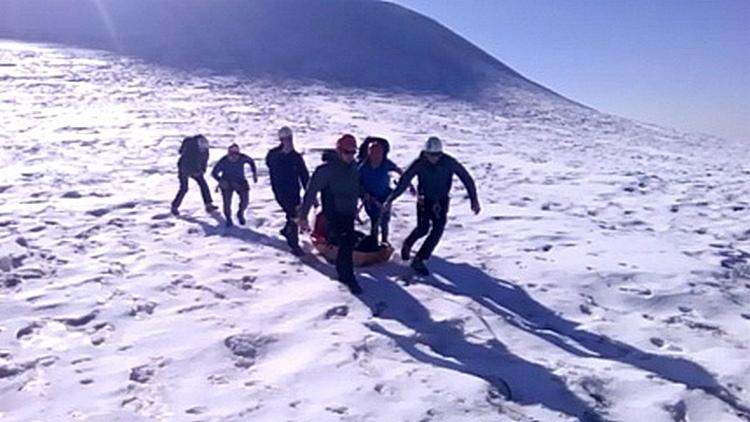 МЧС Северной Осетии подтвердило гибель воронежца при восхождении на Казбек