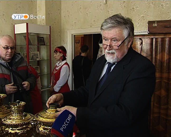 Бывший главный архитектор рассказал воронежцам о реставрации самоваров