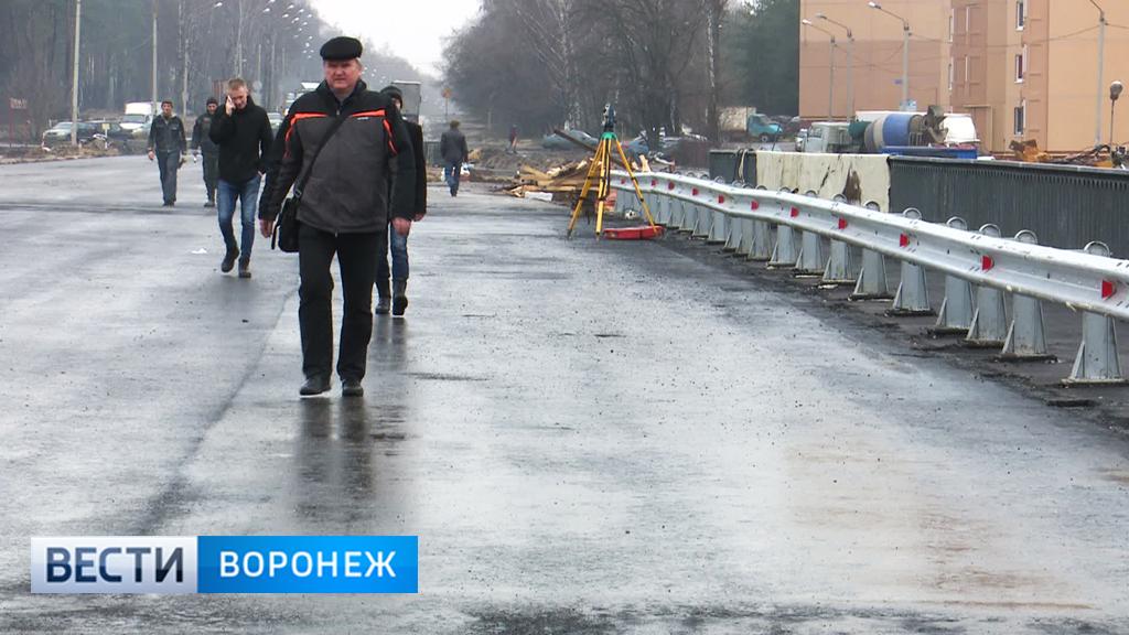 Путепровод на 9 Января в Воронеже закрыли для пешеходов на 3,5 месяца