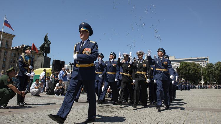 В Воронеже прошёл выпуск офицеров Военно-воздушной академии
