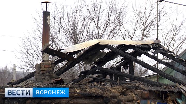 Под Воронежем при пожаре погиб младенец