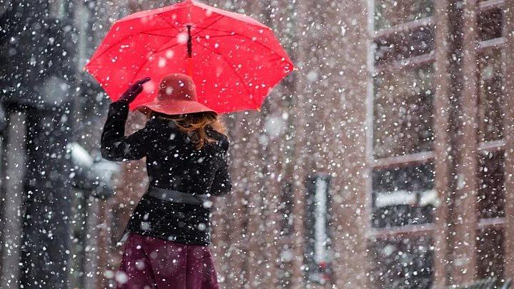 На рабочей неделе в Воронежской области пойдёт снег с дождём