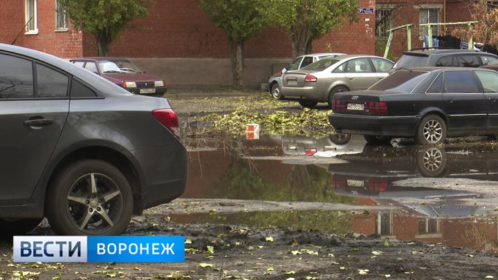 В Воронеже стартовал масштабный ремонт дворов
