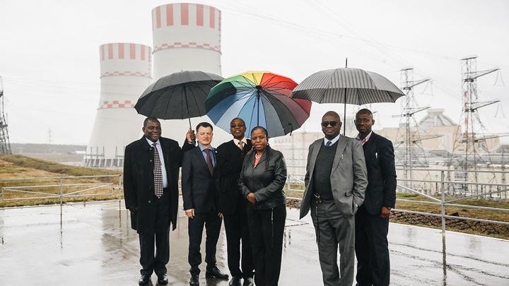 Парламентарии Замбии в Нововоронеже познакомились с новейшими атомными технологиями России