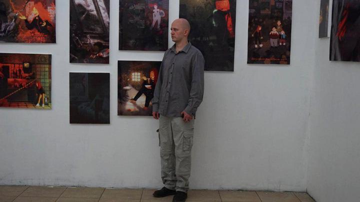 Воронежский художник об испорченных картинах: «Если я злю идиотов, то не всё потеряно»