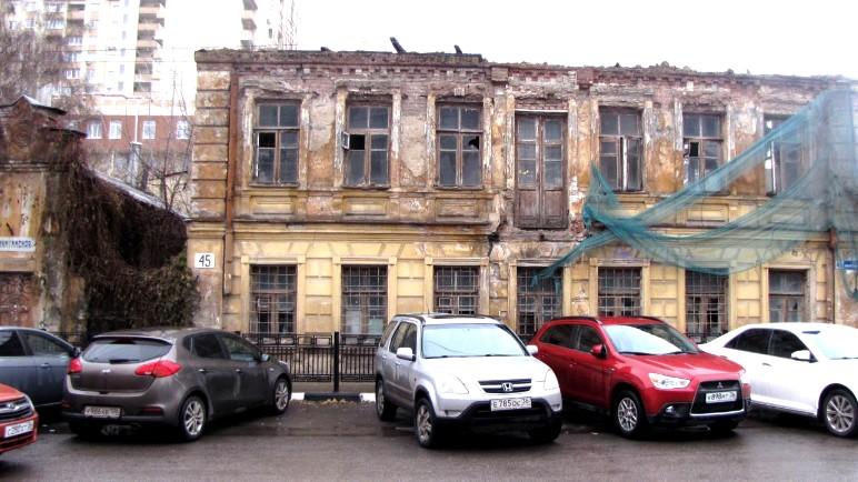 У выставленного на продажу за 1 рубль Дома Вагнера в Воронеже появился новый владелец