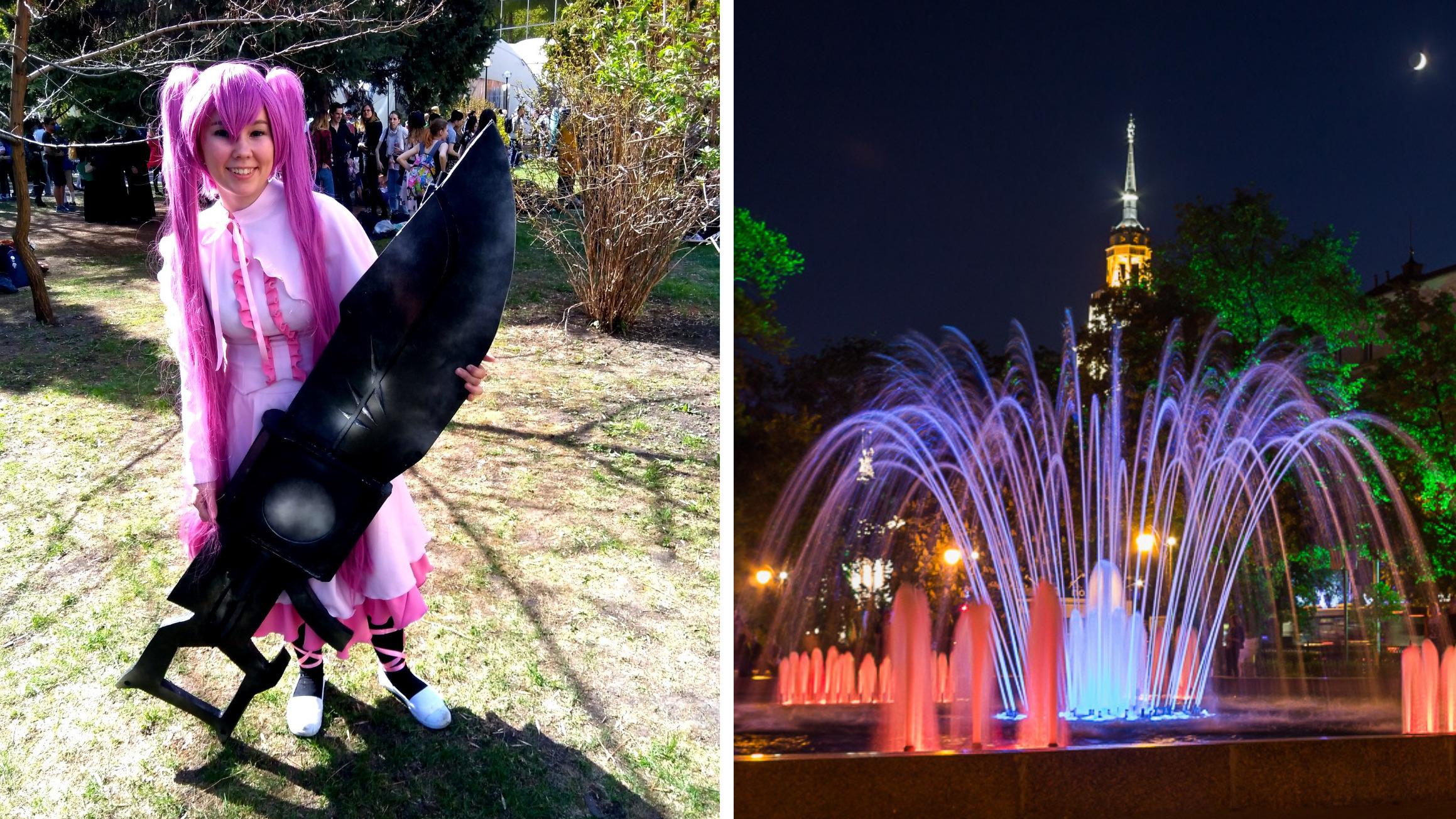 Фестиваль японской анимации и открытие паркового сезона. Как Воронеж отметит 1 Мая