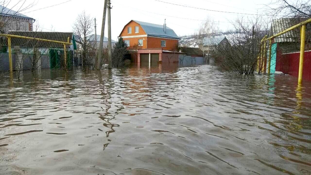 В Калачеевском районе затопило тысячу дворов
