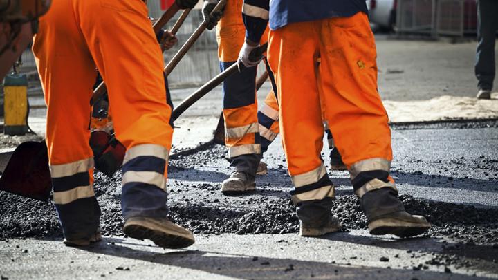 Ямочный ремонт на Московском проспекте в Воронеже завершится к маю