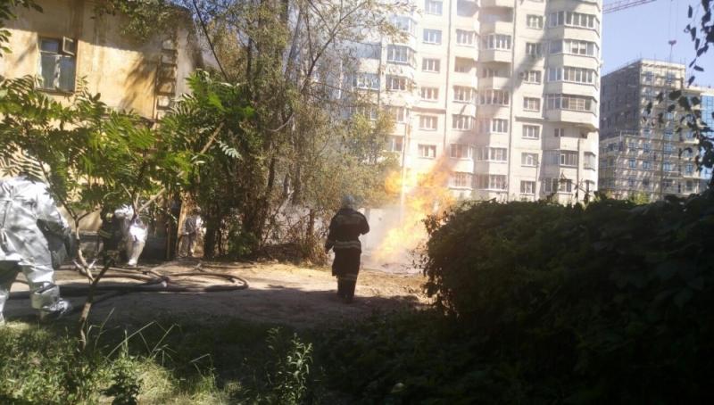 Воронежское МЧС обнародовало видео ликвидации ЧП с газовой трубой