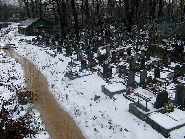 Жителей Воронежа предупредили о подтоплении кладбищ