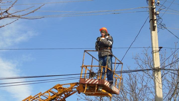Под Воронежем три посёлка остались без электричества