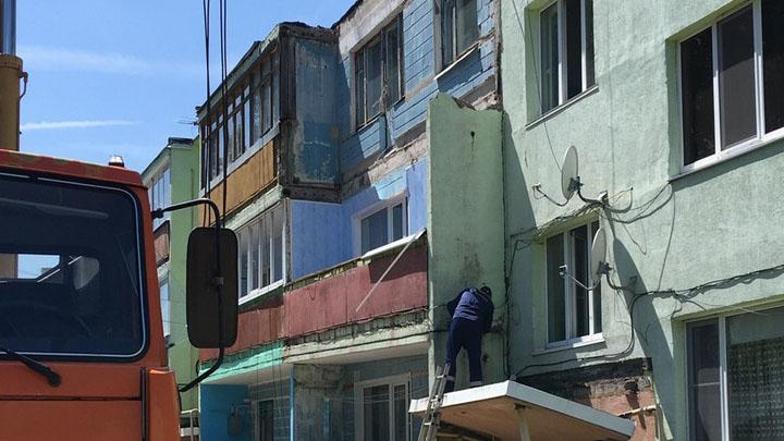Под Воронежем жильцов трёхэтажки срочно эвакуировали из-за угрозы обрушения