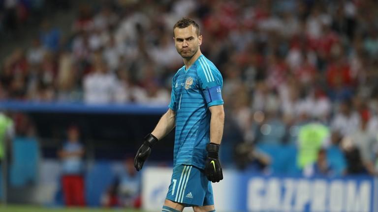 Российская сборная проиграла матч с Хорватией