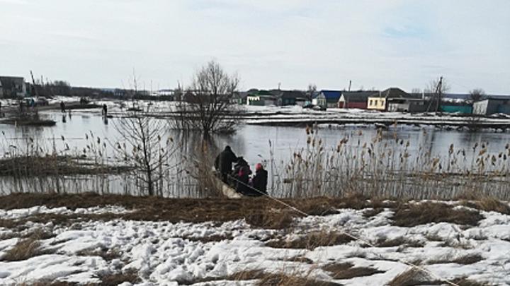 Ещё в одном районе Воронежской области из-за паводка объявили режим ЧС
