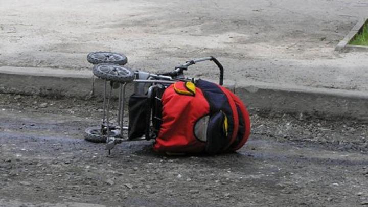 В Нововоронеже «ВАЗ» сбил женщину с коляской на переходе