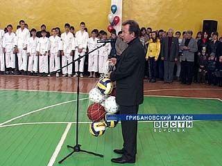 """""""АГРО-инвест"""" выделил деньги на ремонт Грибановской спортивной школы"""