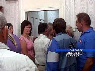 Акция протеста в Павловске с улиц перетекла в кабинет главы района
