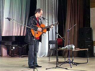 Александр Ефремов провел творческий вечер
