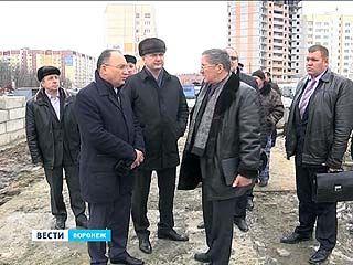 Александр Гусев побывал на главных стройплощадках Воронежа