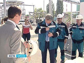 Александр Гусев посетил одно из крупнейших предприятий-инвесторов Воронежа