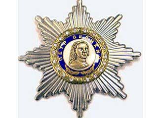 Александр Соловьев награжден Орденом Петра Великого 1-ой степени