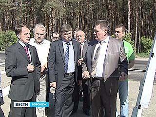 Алексей Гордеев побывал на окружной с инспекторской проверкой