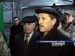 Алексей Гордеев побывал в Бутурлиновском и Бобровском районах