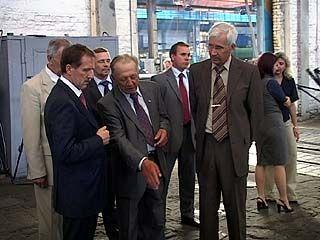 """Алексей Гордеев посетил предприятие """"Воронежстальмост"""""""