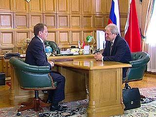 Алексей Гордеев пожелал Сергею Мозговому успехов в работе на новой должности