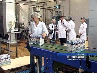 Аннинский завод по производству молочных продуктов работает болеее 30 лет