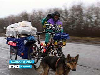 Артур Оганян отправился на велосипеде в Якутск