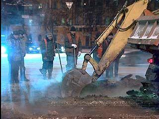 Авария на водоводе в районе площади Застава ликвидирована