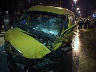 Авария на юго-западе Воронежа.