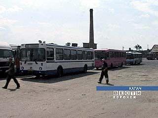 Автобусный парк в Калаче увеличился