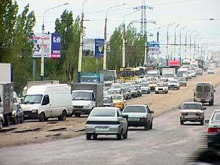 Автомобильные пробки повышают аварийность на воронежских дорогах