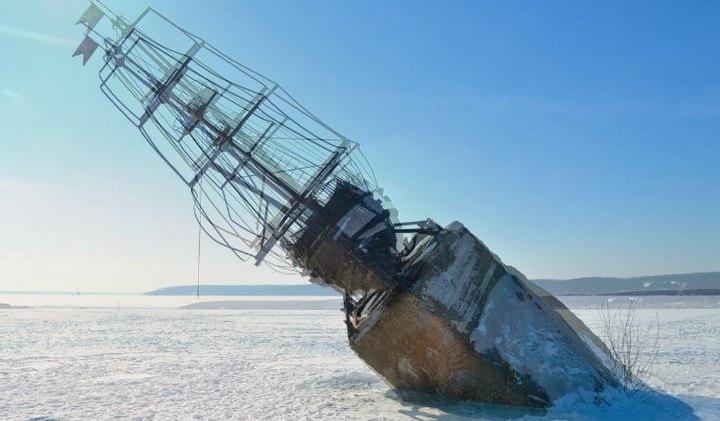 Корабль должен вернуться на воду. Где воронежцы предложили установить «Меркурий»