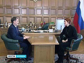 Балерину с мировым именем пригласил на приём губернатор Алексей Гордеев