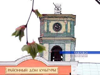 Башенным часам Павловска не менее 140 лет