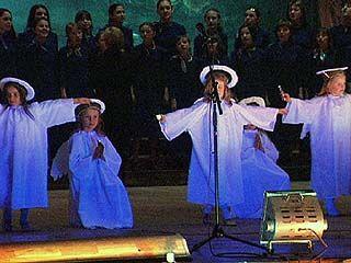 Благодатный огонь - в театре оперы и балета