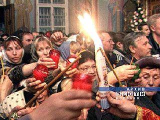 Благодатный огонь отправился к жителям Воронежского региона