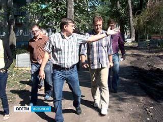 Благоустройство в Воронеже должно закончится до 15 сентября