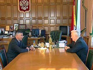 Борис Боярсков встретился с губернатором Воронежской области