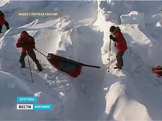 Борисоглебский кадет застрял в снегах Арктики вместе с Павлом Астаховым