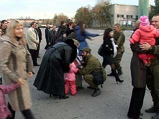 Бойцы воронежского спецназа ФСБ вернулись из Чечни