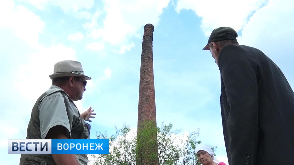 Труба бывшего мясокомбината в Воронежской области может рухнуть в любой момент
