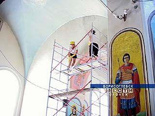 Будущие архитекторы проходят практику в Борисоглебском благочинии